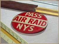 Air raid button