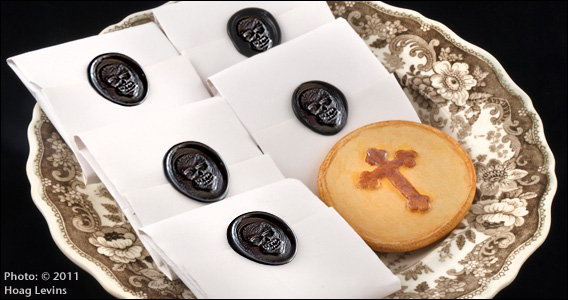 funeral biscuits