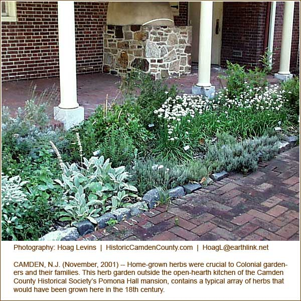 Colonial herb gardens houses plans designs for Garden design 18th century