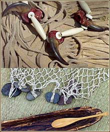 tools of the Delawear Indians