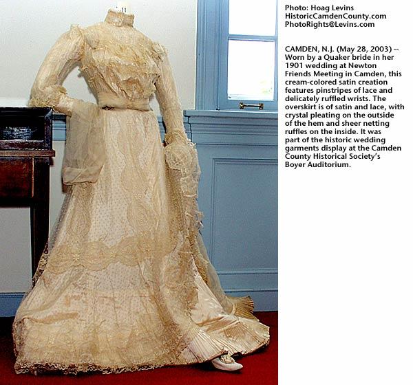 Historic Wedding Gown Exhibit